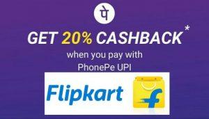 Get  20% Cashback with PhonePe Wallet   Flipkart Offer