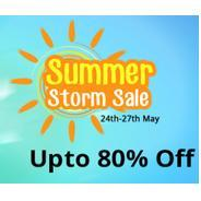 Get 24th-27th May - Shopclues Summer Strom Sale - Upto 80% OFF + Extra Flat 10% OFF On Using Indusln