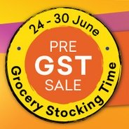 Get 24th-30th June Grofers Pre-GST Sale + Extra Rs.125 Cashback on Orders above Rs.2500 | Grofers Of