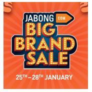 Get 25th-28th Jan. - Jabong Big Brand Sale - Minmum 51% - 80% OFF   Jabong Offer