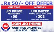 Get  5 Off on  4G Prime Membership  99 and Monthly  33 Recharge at Rs 0 | Ajio Offer