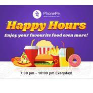Get 7PM-10PM | PhonePe Happy Hours - Flat Rs.100 Cashback when you pay via PhonePe at KFC, McDonalds