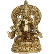 Get Aakrati Lord Kuber Brass Statue for Hoem Temple at Rs 571 | Flipkart Offer