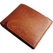 Get Accezory Tan Mens Wallet with Push Button Closure at Rs 271 | Amazon Offer