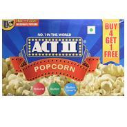 Get ACT II Microwave Popcorn, 495g (Pack of 5) at Rs 214 | Amazon Offer