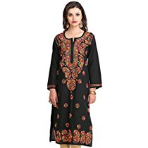 Get ADA – Hand Embroidered Lucknow Chikan Kurtis & Tops Under 899 at Rs 531 | Amazon Offer