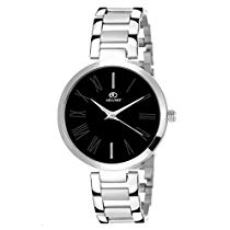Get ADAMO Enchant Analog Black Dial Women's Watch-2480SM02 at Rs 323   Amazon Offer