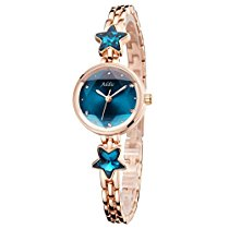 Get Addic Heritage & Charm Blue & Rose Gold Girls & Women's Watch at Rs 499 | Amazon Offer