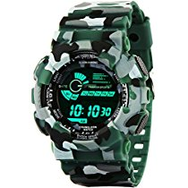 Get Addic Multicolor Dial Army Green Strap Digital sports Watch at Rs 539 | Amazon Offer