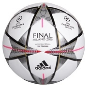 Get Adidas Finale Milano Capitano Football - Size: 5 (Pack of 1, White, Black, Silvmt) at Rs 741 | F