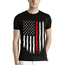 Get Adro Men's USA Flag Printed cotton T-shirt at Rs 404 | Amazon Offer