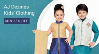 Get AJ Dezines Kids Clothing 50% to 76% off   at Rs 269   Amazon Offer