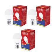 Get Ajanta Quartz3 Base B22 9-Watt LED Bulb (Pack of 3, White) at Rs 329   Amazon Offer