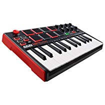 Get Akai Professional MPK MINI MKII 25-Key Ultra-Portable USB MIDI Keyboard and Pad Controller with