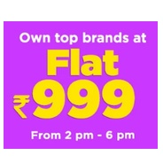 Get All Lifestyle Products Flat Rs.999 at Rs 999 | Jabong Offer