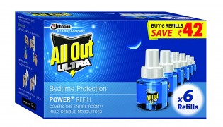 Get All Out Ultra Clear Refill Saver (270ml, Pack of 6) at Rs 332 | Amazon Offer