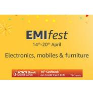 Get Amazon EMI Fest - Electronics, Mobiles and Furniture | Amazon Offer