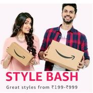 Get Amazon Fashion Style Bash Start Rs.199 at Rs 199 | Amazon Offer