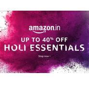 Get Amazon Holi Essentials Upto 40% OFF | Amazon Offer