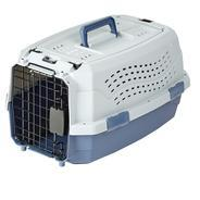 Get AmazonBasics Two Door Top Load Pet Kennel (19-inch) at Rs 705   Amazon Offer