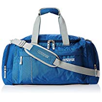 Get American Tourister Nylon 55 cms Blue Travel Duffle (40X (0) 01 008) at Rs 1391 | Amazon Offer