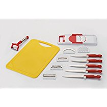 Get Amiraj Plastic Cutting Tools Set, 13-Pieces, Yellow/Red at Rs 339 | Amazon Offer