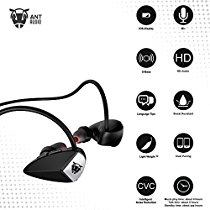 Get Ant Audio H27 Wireless Sports Earphone with Mic (Black) at Rs 1399 | Amazon Offer