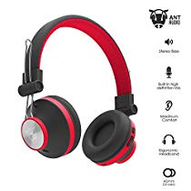 Get Ant Audio Treble H82 On-Ear Bluetooth Headphones with Mic (Black Red) at Rs 949 | Amazon Offer