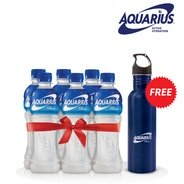 Get Aquarius Active Hydration Drink 400 ml Pack of 6 (Stainless Steel Sipper Worth Rs 200 Free) at R