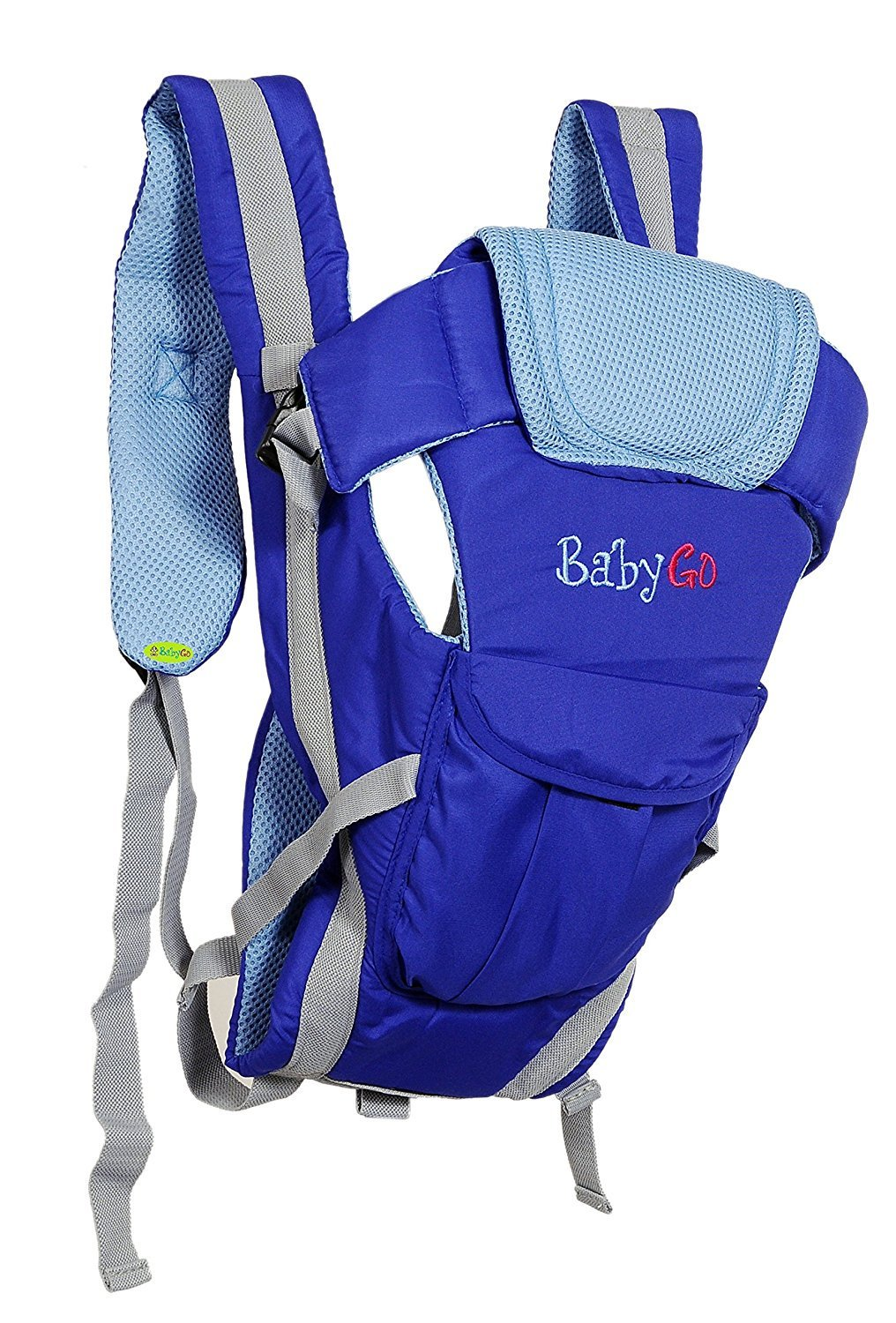 Get BabyGo Soft 4-in-1 Baby Carrier with Comfortable Head Support and Buckle Straps at Rs 425   Amaz