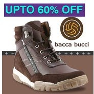 Get Bacca Bucci Footwears Upto 60% OFF | gofynd Offer