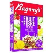 Get Bagrrys Fruit N Fibre Muesli, Mixed Fruit, 500g at Rs 200   Amazon Offer