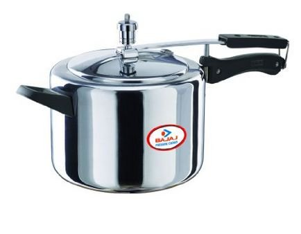 Get Bajaj Majesty Pressure Cooker with Inner Lid, 5 Litres      india at Rs 1086 | Amazon Offer
