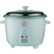 Get Bajaj Majesty RCX 5 Electric Rice Cooker (1.8 L, White) at Rs 1325   Flipkart Offer