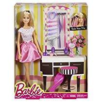 Get Barbie Doll and Playset, Multi Color at Rs 569 | Amazon Offer