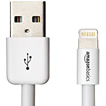 Get Basics Apple Certified Lightning to USB Cable – 3 feet (0.9 meters) – White at Rs 799 | Amaz