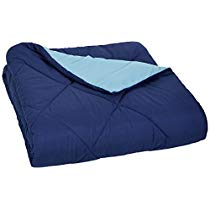 Get Basics Reversible Microfiber Comforter – Full/Queen, Navy Blue at Rs 1249 | Amazon Offer