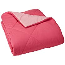 Get Basics Reversible Microfiber Comforter – Full/Queen, Pink at Rs 1249 | Amazon Offer