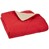 Get Basics Reversible Microfiber Comforter – Full/Queen, Red at Rs 1249 | Amazon Offer