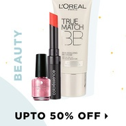 Get Beauty Products Upto 50% Off | Jabong Offer
