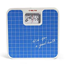 Get Belita BpsM1101 Square Display Large Surface Personal Analog Weighi at Rs 615 | Amazon Offer
