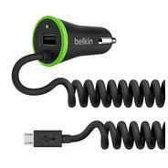 Get Belkin F8M890bt04-BLK Car Charger (Black) at Rs 564 | Amazon Offer