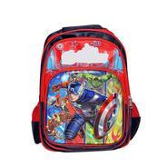 Get Belomoda Emboss Cartoon Theme Printed Nylon School Bag - Red at Rs 779 | Amazon Offer