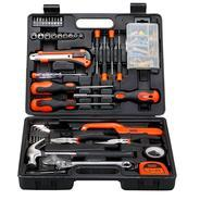 Get Black + Decker BMT126C Hand Tool Kit (Orange and Black, 126-Pieces) at Rs 1699 | Amazon Offer