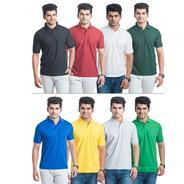 Get BLE Mens Polo T-shirt - Set Of 8 at Rs 1499 | homeshop18 Offer