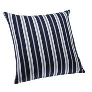 Get Blue Alcove Delhi Stripes Cushion Cover - Navy and White (SGCC-37) at Rs 99 | Amazon Offer