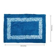 Get Blue Cotton 15 x 23 Inch Door Mat by Status at Rs 69 | Pepperfry Offer