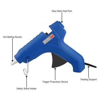 Get BMS Lifestyle G-01 Hot Melt Glue Gun at Rs 379 | Amazon Offer