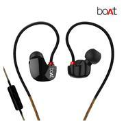 Get boAt Nirvanaa Uno In-Ear Earphones with Mic (Black) at Rs 799 | Amazon Offer