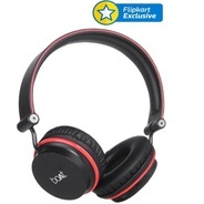 Get boAt Rockerz 400 Wireless bluetooth Headphone (Black and Red, On the Ear) at Rs 1199 | Flipkart